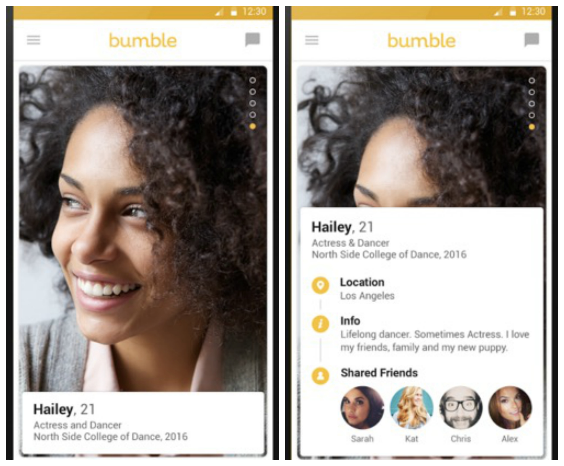 Bumble dating apps usa