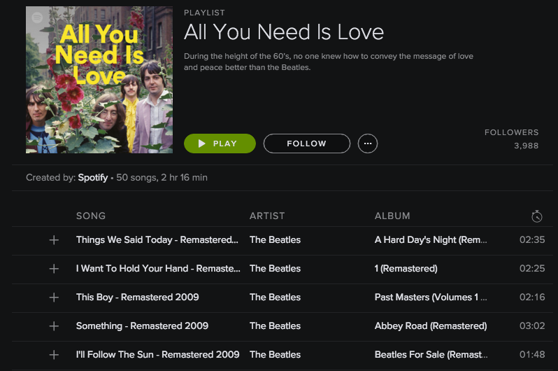 how to move a song into a playlist spotify