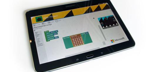 Samsung Micro:bit app
