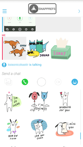 Stickers in ChatV2