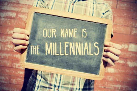 millennial chalkboard