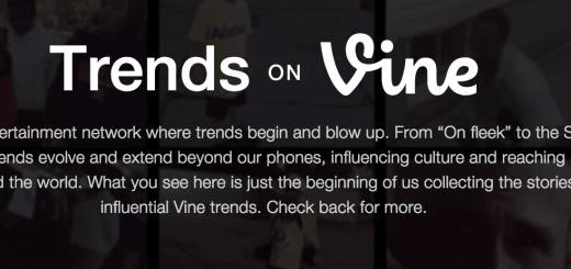 trends on vine