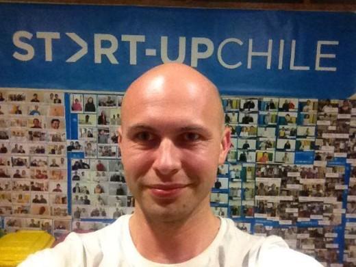Valeriy Grabko during the Startup Chile program
