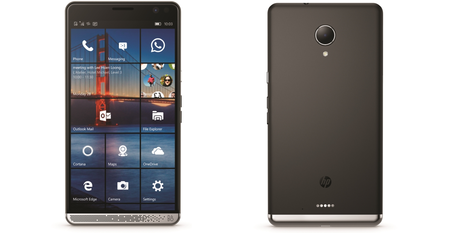 Hp S Monster Spec Windows 10 Smartphone Is A Brave Move