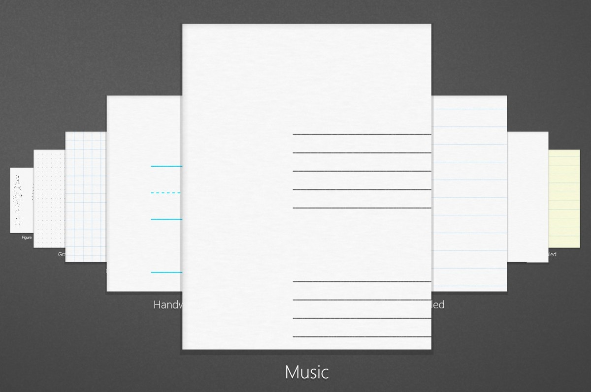 Plumbago Paper Templates