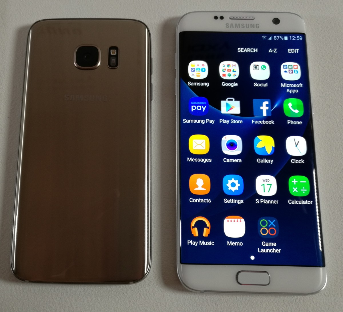 Samsung's new Galaxy S7 and S7 Edge bring features for power