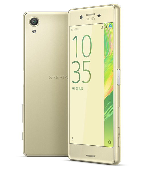 Sony's Xperia X features an understated, sophisticated design