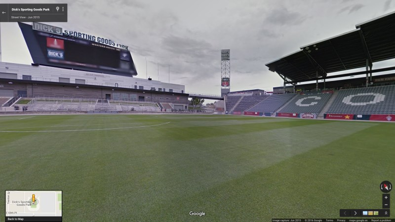 Take a stroll through Dick's Sporting Goods Park in Colorado