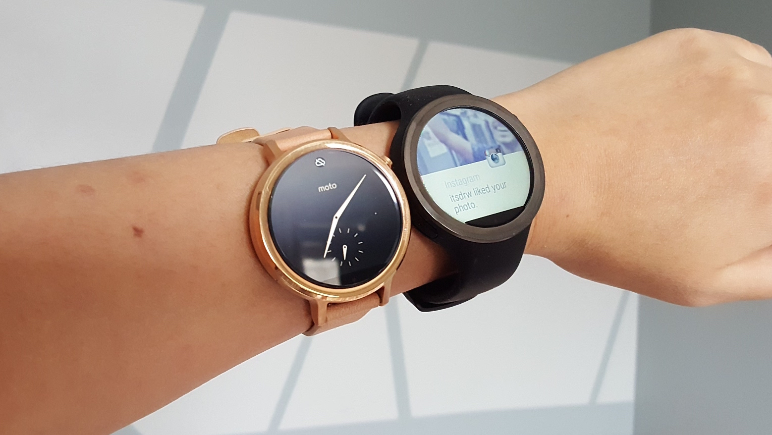 moto360 sport and classic