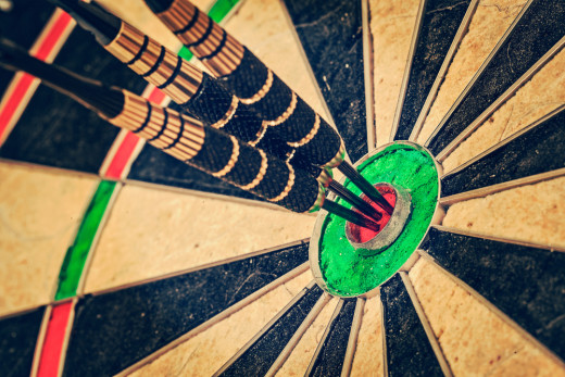 bulls eye, target, sync