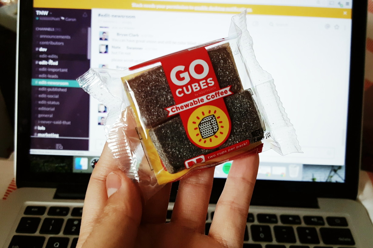 I Tried Go Cubes Chewable Coffee And I M Pretty Sure This Is What