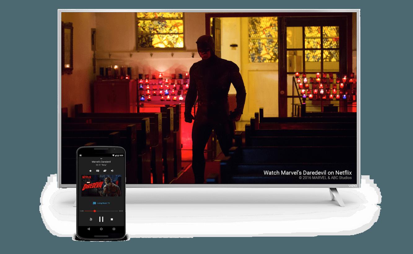 Daredevil Netflix Vizio TV+Tablet Image