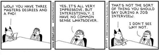 Dilbert-Lacks-All-Common-Sense-On-A-Job-Interview