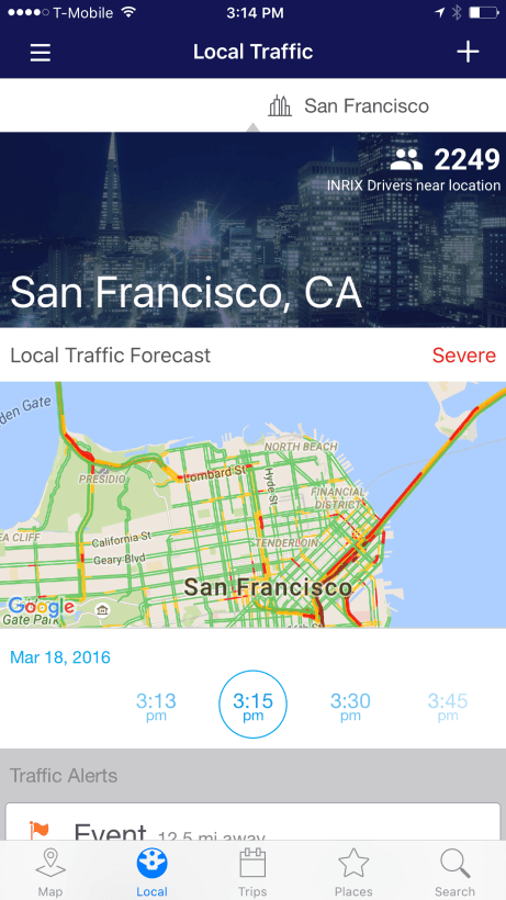 INRIX-Traffic-Local-Conditions-and-Forecast