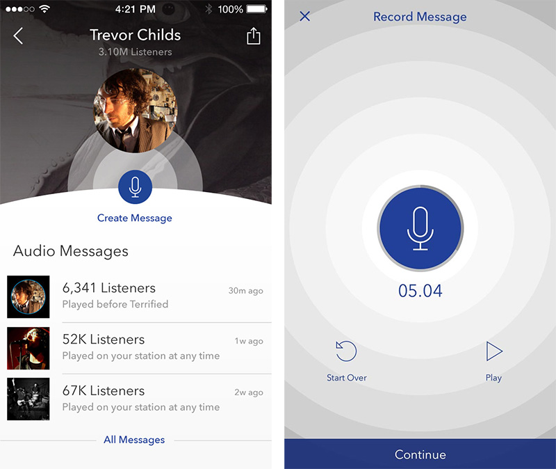 Pandora's AMPcast lets artists broadcast messages to their fans using just their phones