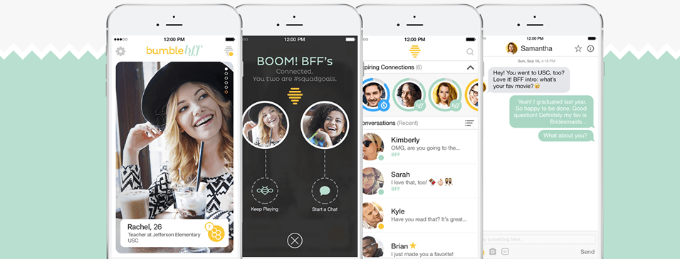 Bumble dating app release