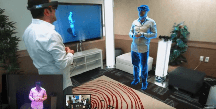 You'll soon be able to 'holoport' anywhere in the world with Microsoft