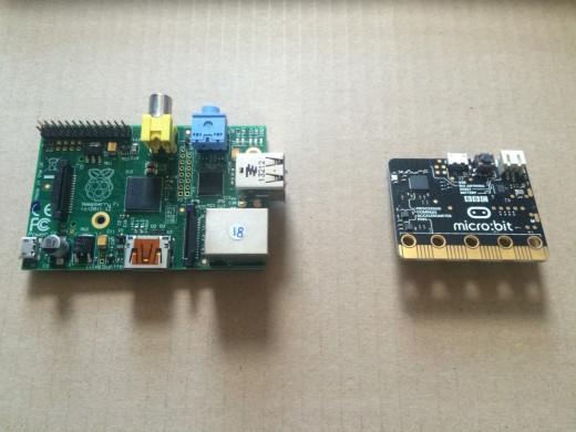 microbit vs Pi