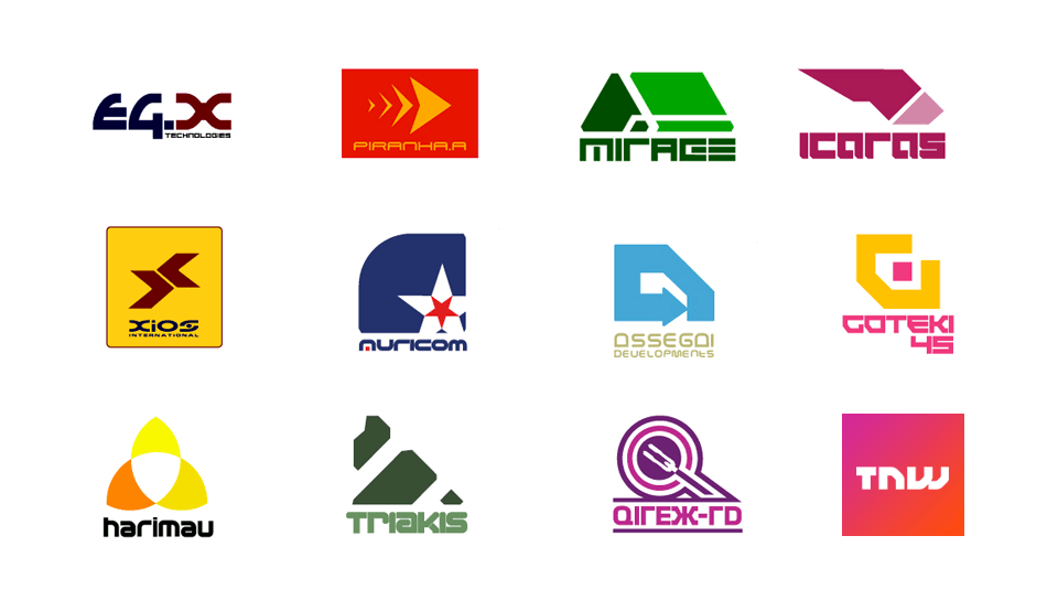 The next TNW logo doesn't look out of place in the team lineup for Wipeout