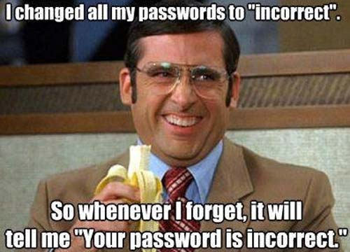 passwords, security