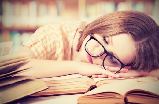 sleep, working, overworked