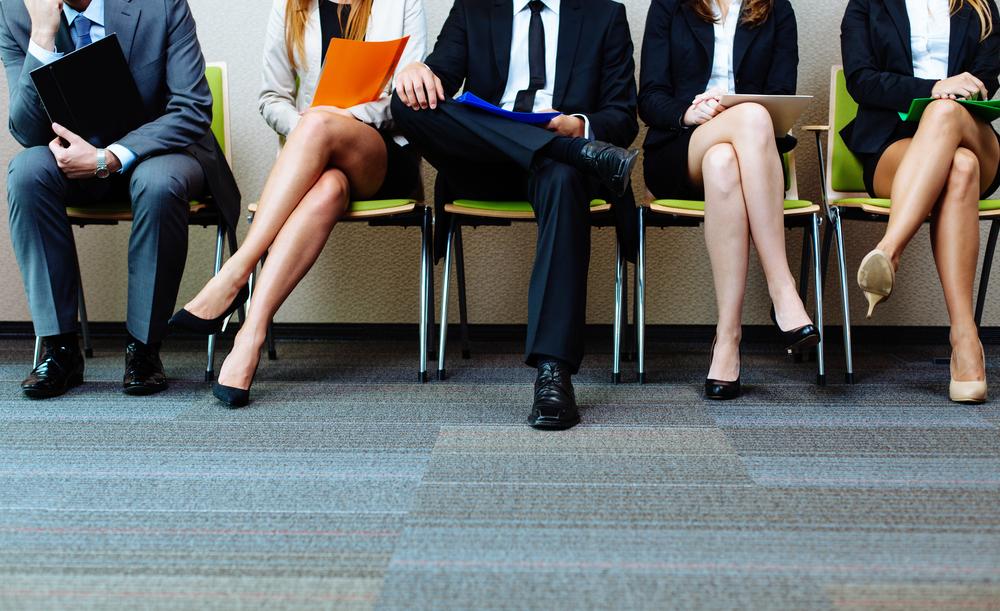 interview, people, teamwork