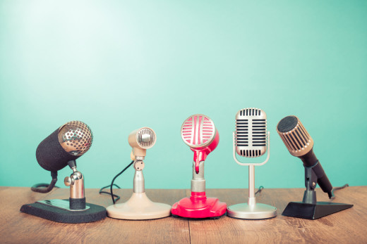 interview, microphone