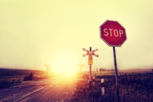 stop block