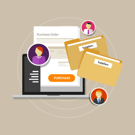 procurement department, procure, supply chain
