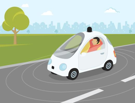 smart car, self driving