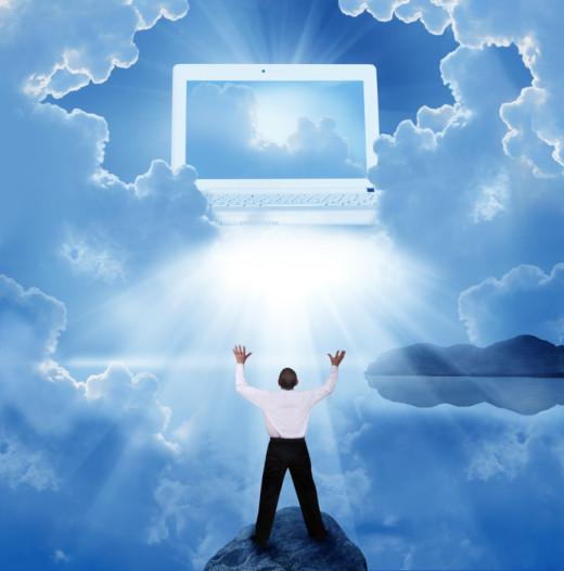 cloud evangelist computer sky