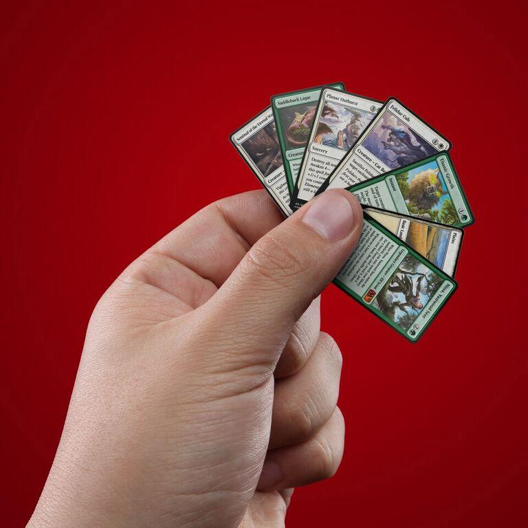 travel sized magic cards