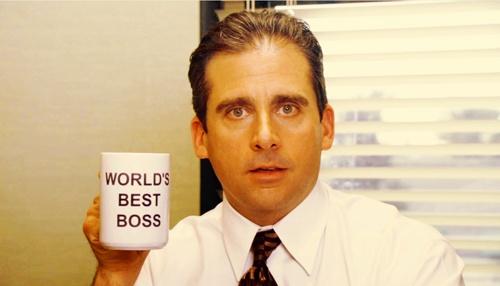 michael scott, best boss, managment