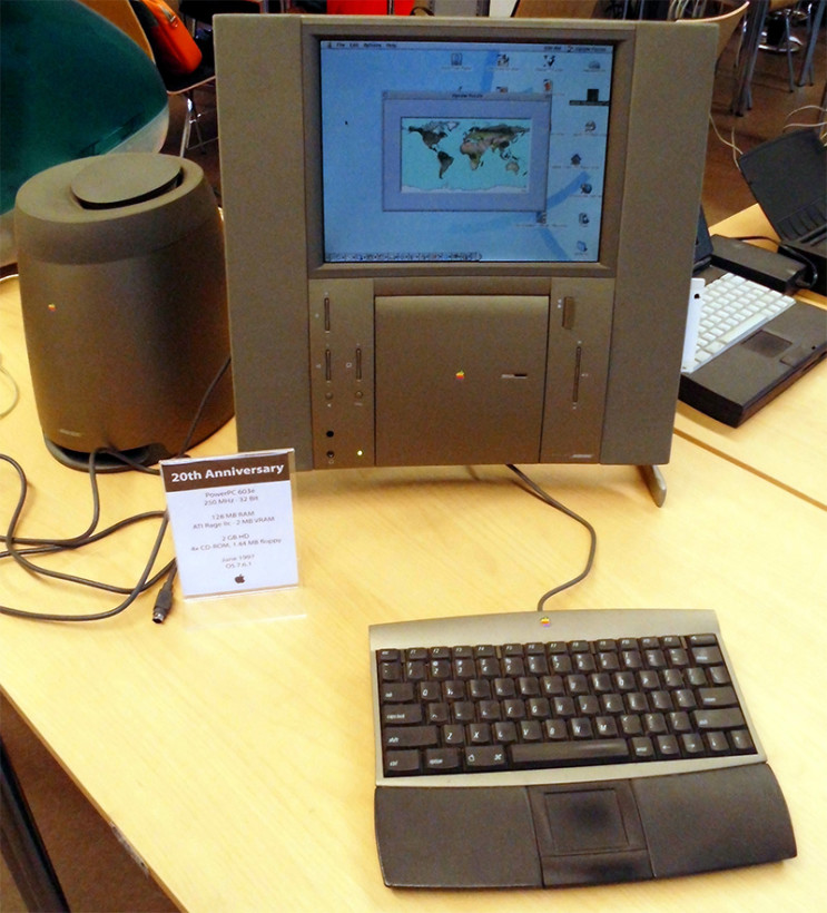 Apple's Twentieth Anniversary Macintosh was one of Sir Jony Ive's first projects for the company