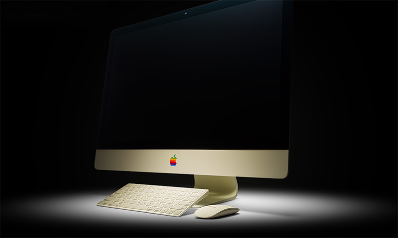 Colorware is only making 25 of these retro-themed 5K Retina iMacs