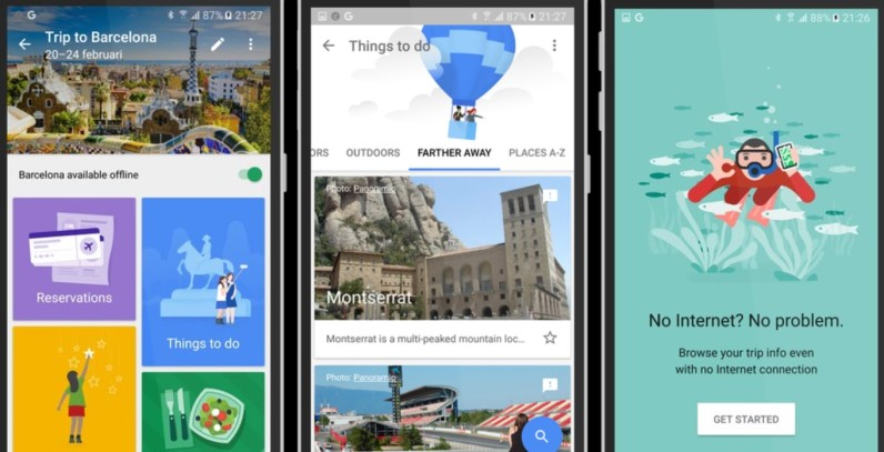 Google may be building an awesome travel app called Trips