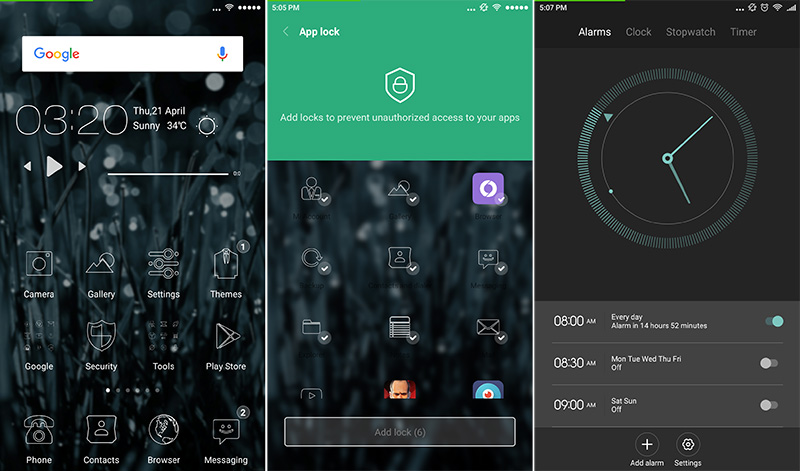 MIUI 7 is endlessly customizable and includes beautiful built-in apps