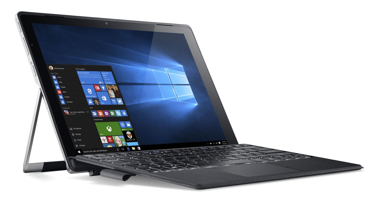 Планшет Acer Switch Alpha 12 SA5-271-71P3 NT.LCDER.016 (Intel Core i7-6500U 2.5 GHz/8192Mb/256Gb SSD/Wi-Fi/Bluetooth/Cam/12/2160x1440/Windows 10 64-bit)