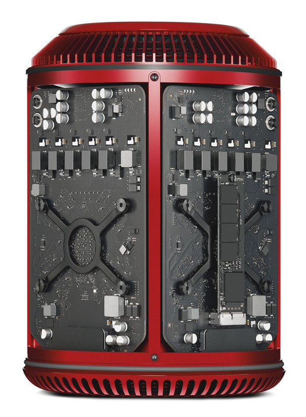 The Product (RED) Mac Pro is beautiful inside and out