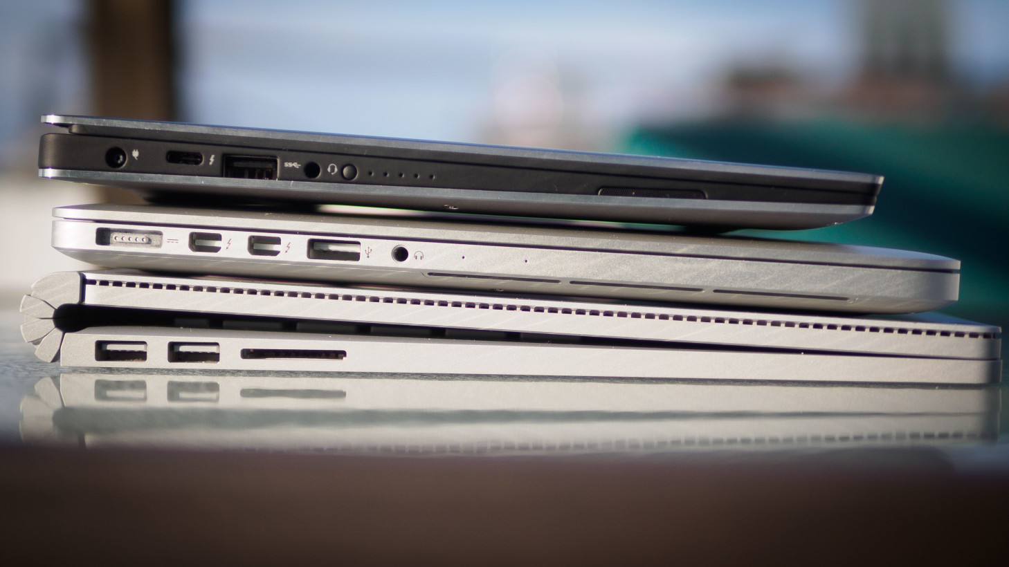Dell managed the size reduction without a significant increase in thickness.