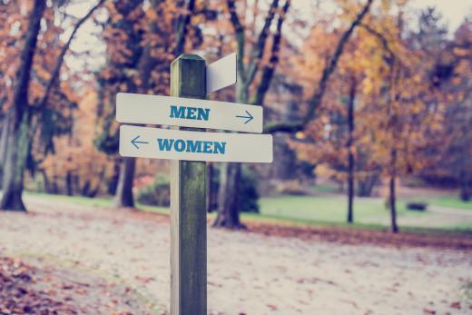 men women diversity sexism