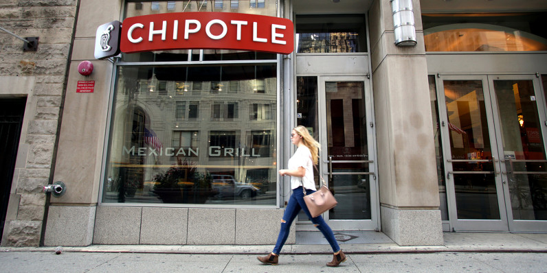 Foursquare uses location data to predict Chipotle sales drop