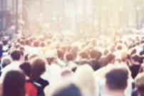 crowd, people