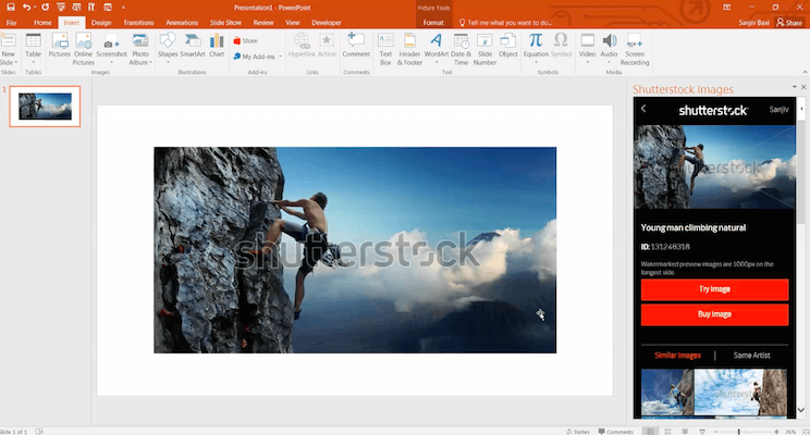 Shutterstock teams up with Microsoft to beautify PowerPoint presentations