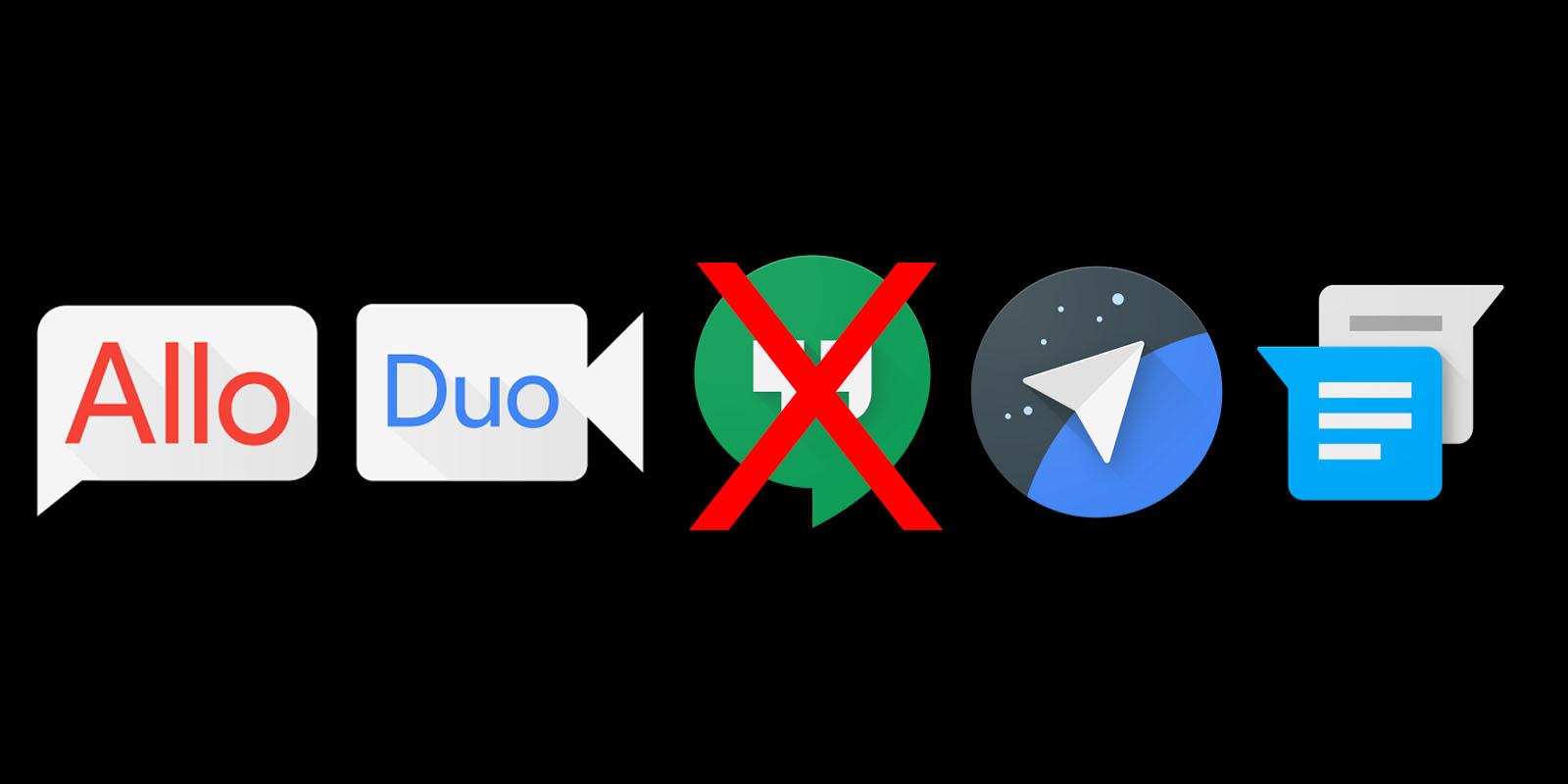 Google Hangouts Die