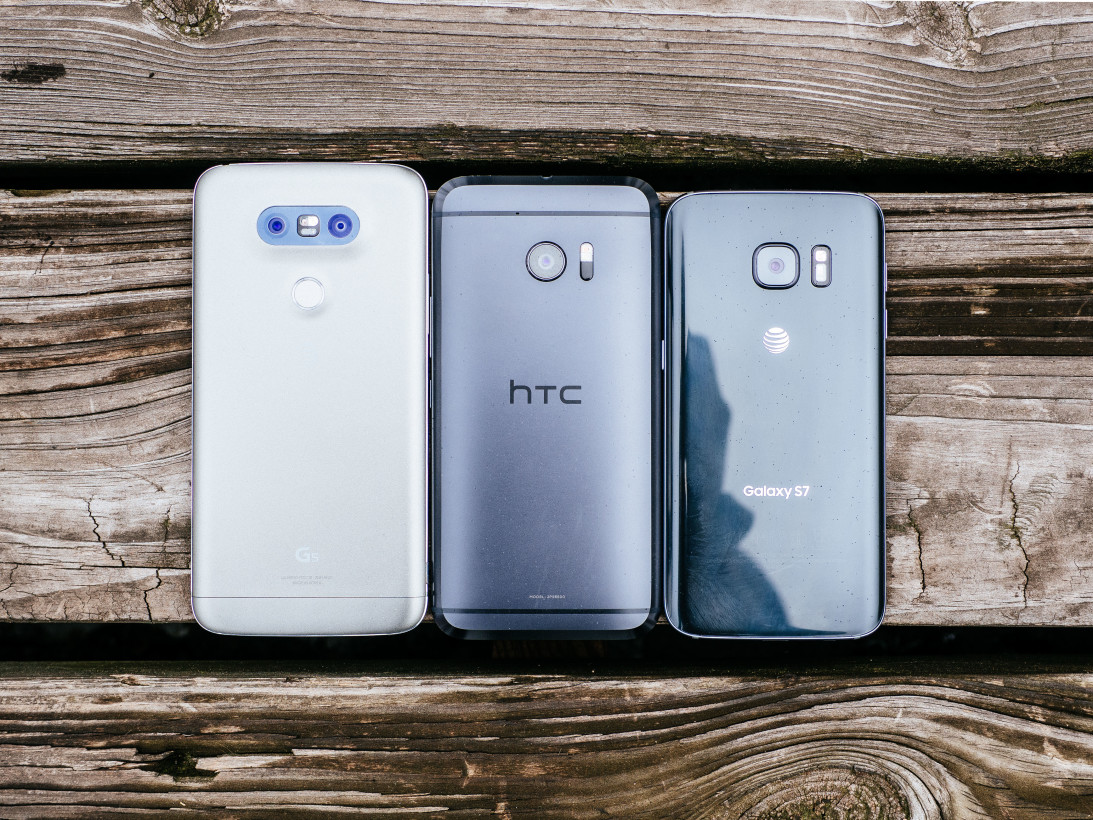 LG G5, HTC 10, Samsung Galaxy S7