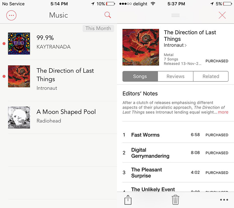 Lookmark lets you save iTunes content from your desktop browser so you can purchase them through the iOS app