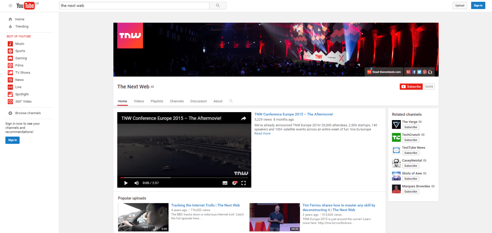 how to go back the the old youtube layout