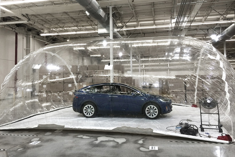 Elon Musk says Tesla's Bioweapon Defense Mode 'is real' after life-saving car demo