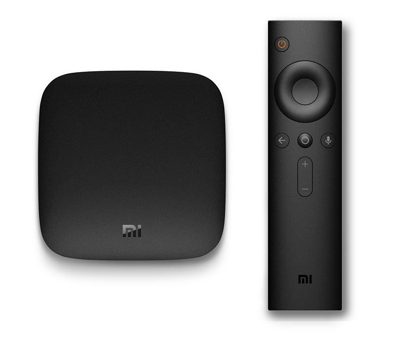 The Mi Box comes with a Bluetooth remote control capable of voice search and game control
